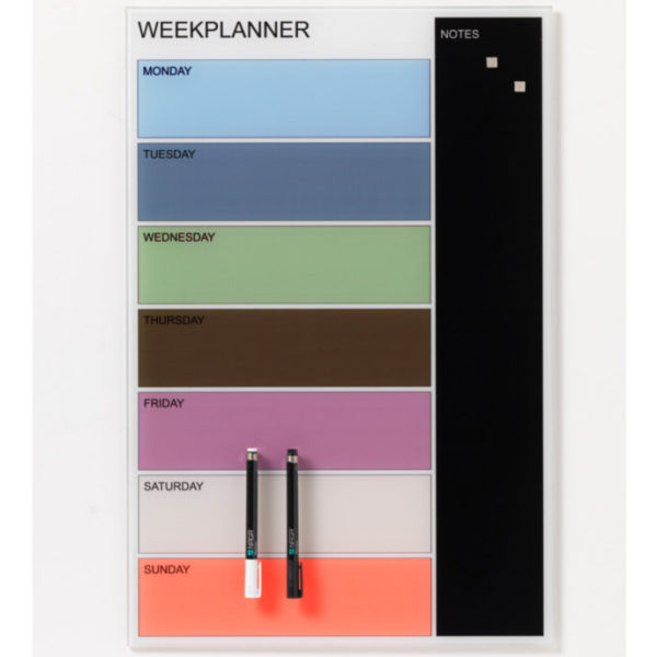 Weekly Planner Whiteboard