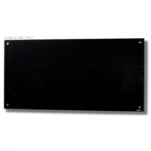 black glass board magnetic