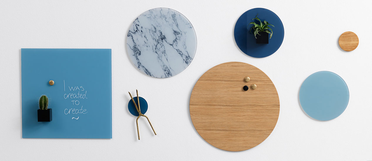 Verwonderend NAGA Whiteboards - Sleek Scandinavian Design for Home and Office KR-39
