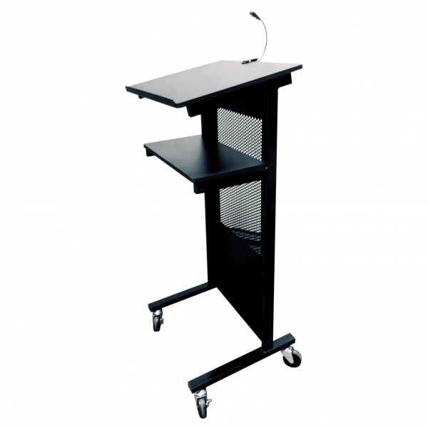 black lectern professional